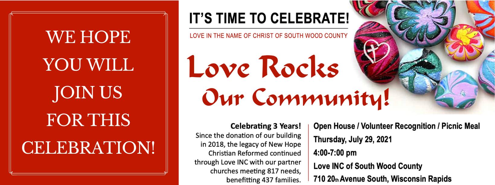 Copy of Love Rocks Banner